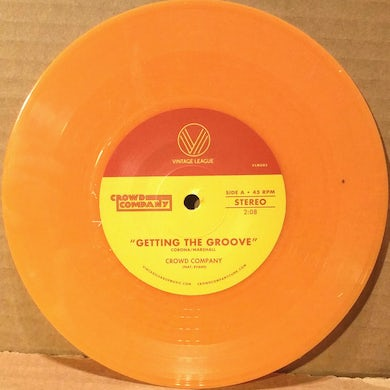 Crowd Company FEVER / GETTING THE GROOVE Vinyl Record