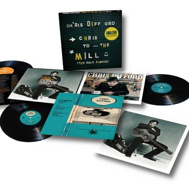 Chris Difford CHRIS TO THE MILL (SOLO ALBUMS BOX SET) Vinyl Record
