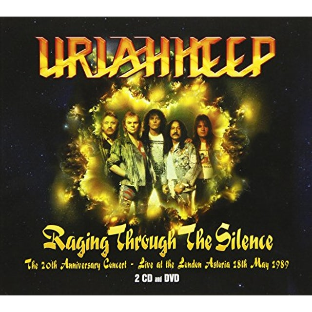 Uriah Heep 20TH ANNIVERSARY CONCERT: LIVE AT LONDON ASTORIA CD