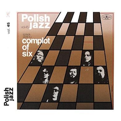 Spisek Szesciu COMPLOT OF SIX (POLISH JAZZ) Vinyl Record
