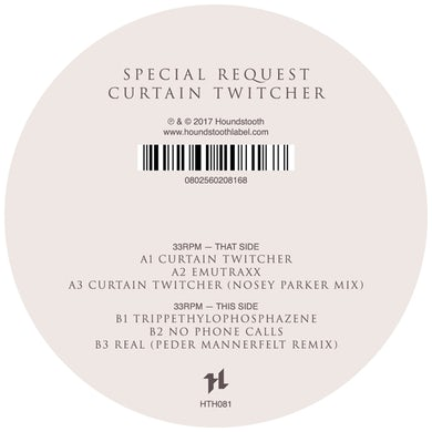 Special Request CURTAIN TWITCHER Vinyl Record