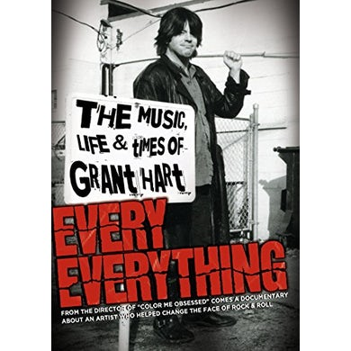 Grant Hart EVERY EVERYTHING: MUSIC LIFE & TIMES OF DVD