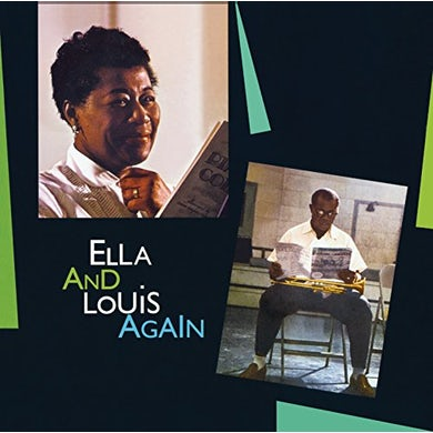 Ella Fitzgerald ELLA & LOUIS AGAIN + 3 BONUS TRACKS CD