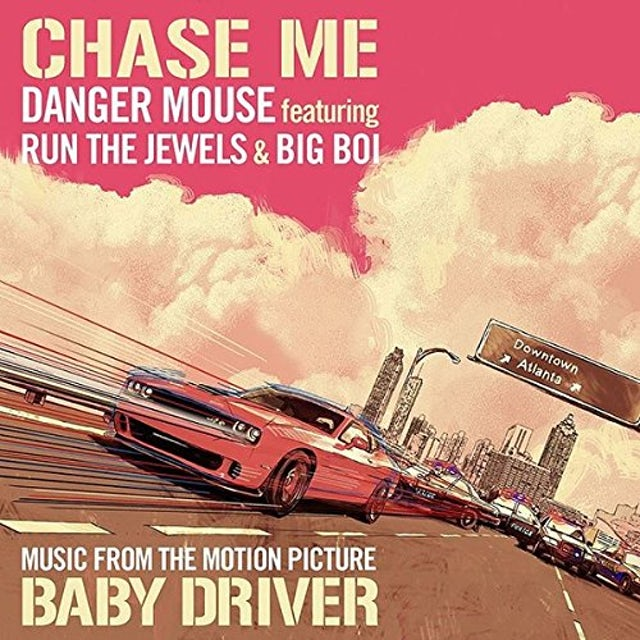 Danger Mouse Featuring Run The Jewels & Big Boi CHASE ME Vinyl Record