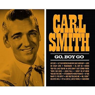 Carl Smith GO BOY GO CD