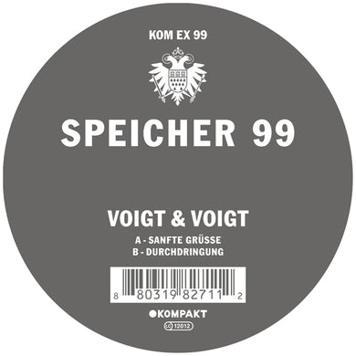 Voigt & Voigt SPEICHER 99 Vinyl Record