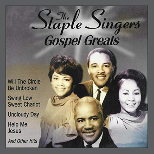 The Staple Singers GOSPEL GREATS CD