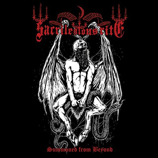Sacrilegious Rite SUMMONED FROM BEYOND CD