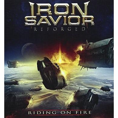 Iron Savior RIDING ON FIRE CD