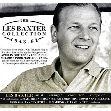 Les Baxter COLLECTION 1943-62 CD