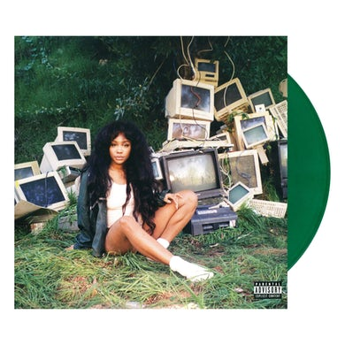 SZA CTRL - Limited Edition Gatefold Green Colored Double Vinyl Record