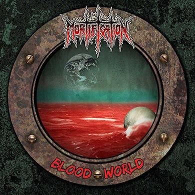 MORTIFICATION BLOOD WORLD Vinyl Record
