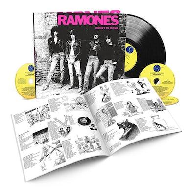 Ramones ROCKET TO RUSSIA CD