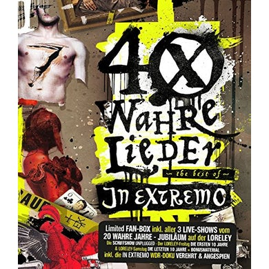 In Extremo 40 WAHRE LIEDER: FAN BOX CD