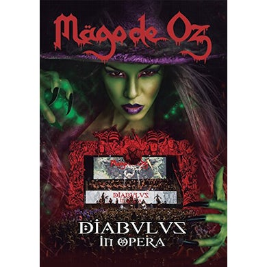 Mago De Oz DIABULUS IN OPERA (2CD+2DVD PAL REG0) CD