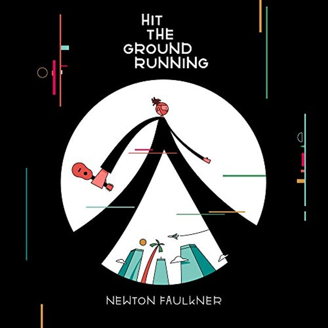 Newton Faulkner HIT THE GROUND RUNINNG Vinyl Record
