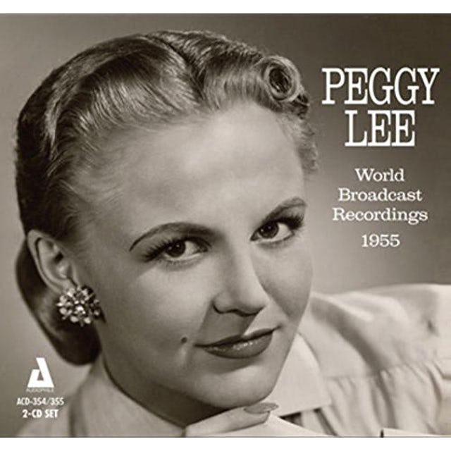 Peggy Lee WORLD BROADCAST RECORDS CD