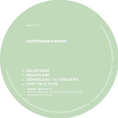 Achterbahn D'Amour ACID TEST 13 Vinyl Record