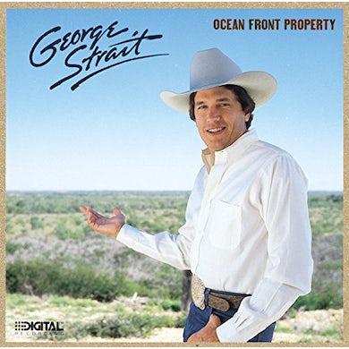 George Strait OCEAN FRONT PROPERTY Vinyl Record