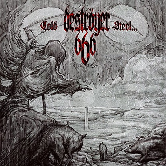Destroyer 666 COLD STEEL OR AN IRON AGE Vinyl Record