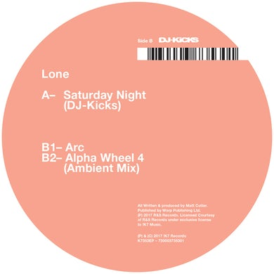 Lone SATURDAY NIGHT Vinyl Record