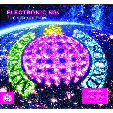 MINISTRY OF SOUND: ELECTRONIC 80S / VARIOUS Vinyl Record