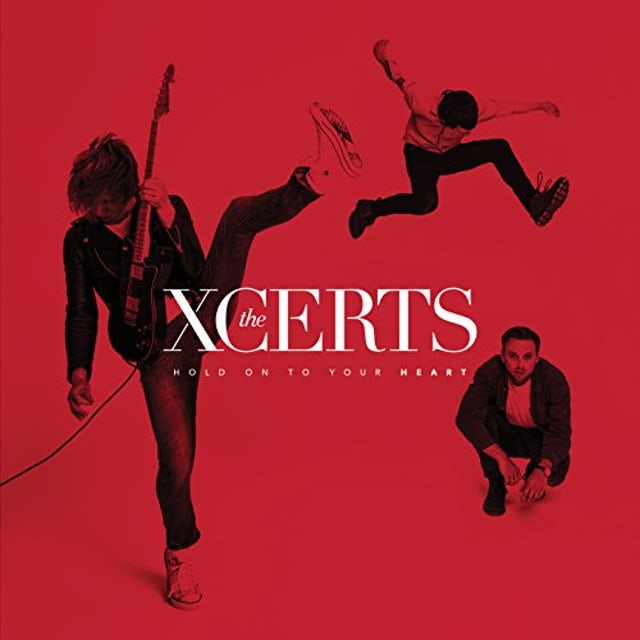 The XCERTS HOLD ON TO YOUR HEART CD