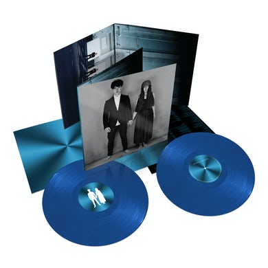 U2 SONGS OF EXPERIENCE - Blue Colored Double Vinyl Record
