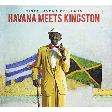 Mista Savona HAVANA MEETS KINGSTON CD