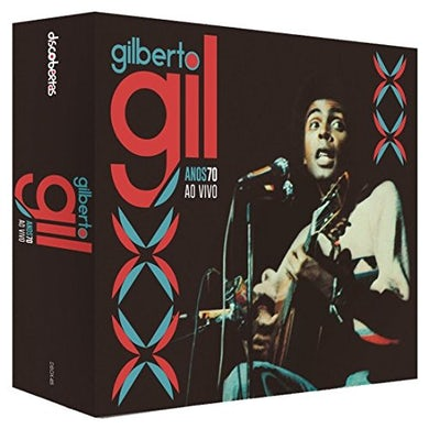 Gilberto Gil ANOS 70 AO VIVO BOX CD