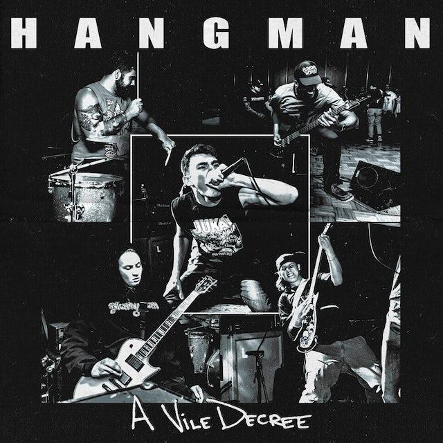 Hangman A VILE DECREE Vinyl Record