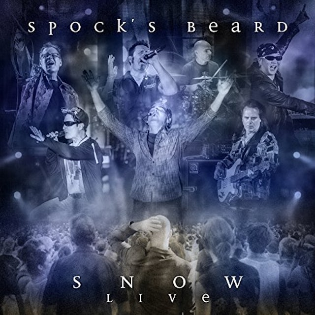 Spock'S Beard SNOW LIVE (DELUXE ARTBOOK) CD