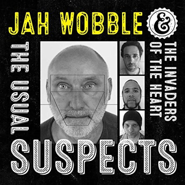 Jah Wobble & The Invaders of the Heart USUAL SUSPECTS Vinyl Record