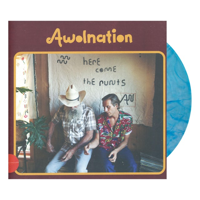 Awolnation HERE COME THE RUNTS Vinyl Record