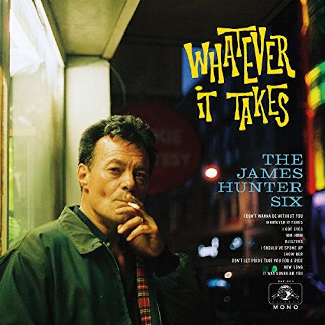 James Six Hunter WHATEVER IT TAKES Vinyl Record