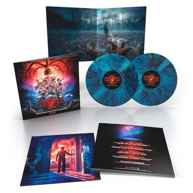 Kyle Dixon STRANGER THINGS 2 - Original Soundtrack Deluxe Edition Colored Double Vinyl Record