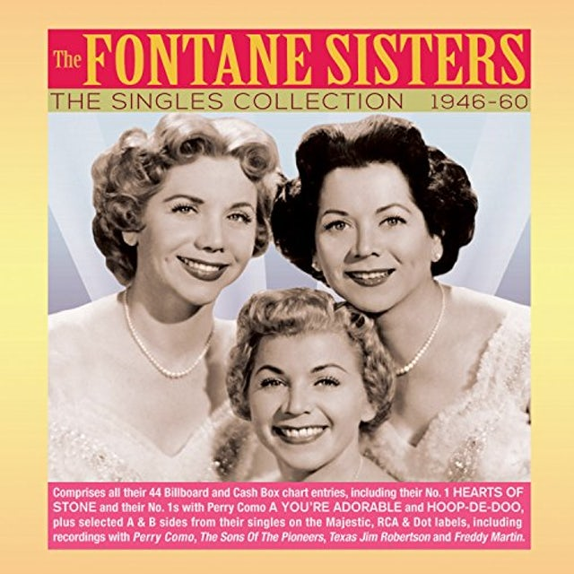 Fontane Sisters SINGLES COLLECTION 1946-60 CD