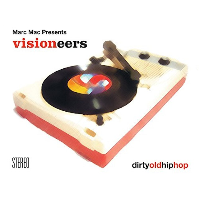 Marc Mac presents Visioneers DIRTY OLD HIP HOP Vinyl Record