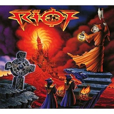 Riot SONS OF SOCIETY Vinyl Record