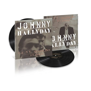 Johnny Hallyday CA NE CHANGE PAS UN HOMME Vinyl Record