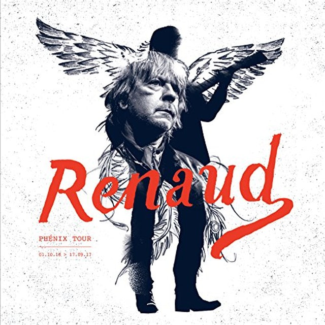 Renaud PHENIX TOUR LIVE CD