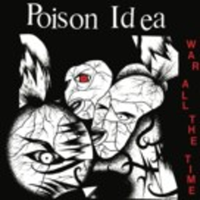 Poison Idea WAR ALL THE TIME CD