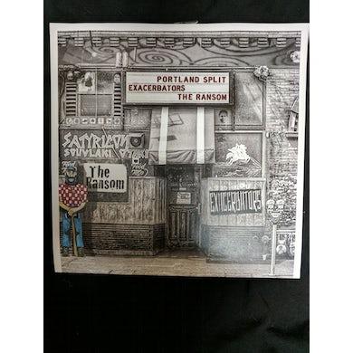 Exacerbators SPLIT EP Vinyl Record