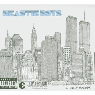 Beastie Boys TO THE 5 BOROUGHS Vinyl Record