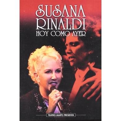 Susana Rinaldi HOY COMO AYER DVD