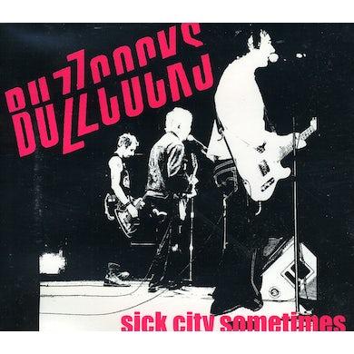 Buzzcocks SICK CITY SOMETIMES CD