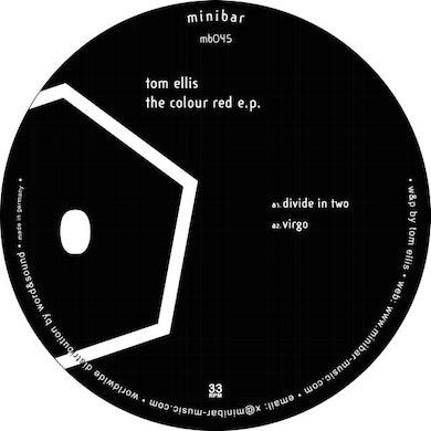 Tom Ellis COLOUR RED Vinyl Record