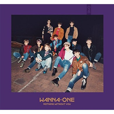 Wanna One 1-1=0 (NOTHING WITHOUT YOU) (WANNA VERSION) CD