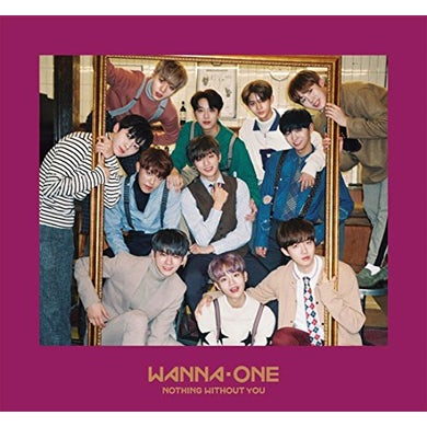 Wanna One 1-1=0 (NOTHING WITHOUT YOU) (ONE VERSION) CD
