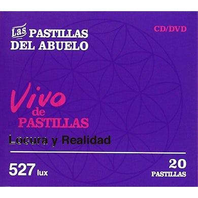 Las Pastillas del Abuelo VIVO DE PASTILLAS:LOCURA Y REALIDAD CD